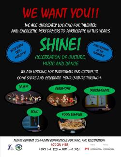 Shine! Celebration of Culture, Music and Dance - Hosted by Saamis Immigration Services
