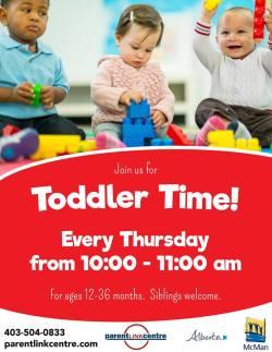 Toddler Time - Drop In Program