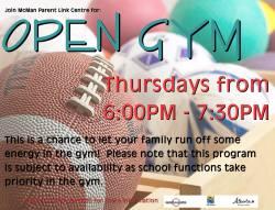 Family Open Gym - Drop In Program